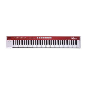 MIDIPLUS X 8 X 6 PROはMIDIキーボード88 61キーをアップグレードして音源の電子ピアノを持参してX 8 PROを練習します。