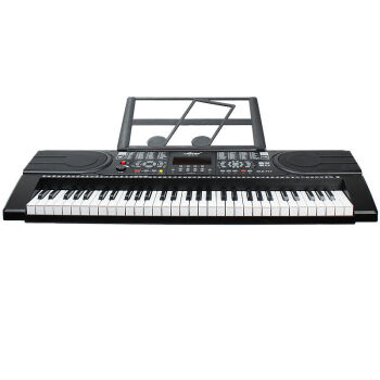美乐斯(Miles)美乐斯61鍵盤電子キーボンボン多機能電子キーボンド大人子供教育電子ピアノ仿ピアノ鍵盤セット8,777電子キーボンド+琴架+琴包+琴カバー
