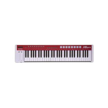 MIDIPLUS X 8 X 6 PROはMIDIキーボード88 61キーをアップグレードして音源の電子ピアノを持参してX 6 PROを練習します。