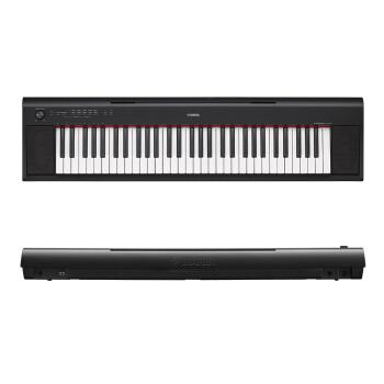 ヤマハ/ヤマハヤハ知能ピアノNP-12初学演奏61鍵盤/76鍵盤電子キーボ32 NP 12黒公式標準装備(61鍵盤)