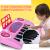 子供用のかわいい子供用の電子キーボンドはマイクを持って赤ちゃん用のピアノの赤ちゃん用のおもちゃの琴をたたきます。