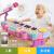 0-1-3歳のおもちゃの女の子8赤ちゃん6-12ヶ月の電子キーボンド充電式マイク付き電子キーボンド充電版(ピンク)