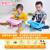 子供向けのかわいい子供用電子キーボンバー子供用多機能ピアノライト付きの女の子啓蒙ライト付き電子キーボードボンドブルー+マイク