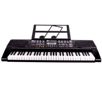 メロスMLS-986エレクトリックボンド61鍵盤はピアノをまねる鍵盤のエレクトリックピアノのエレクトーンカバーセットです。2,986エレクトリックボンド+電子キーボンド+ギフトカバー+ギフトバッグ+オルガンラック