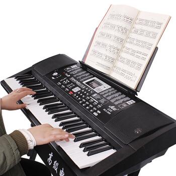 美乐斯(Miles)美乐斯999电子キーボンド61鍵盤多機能児童教育電子ピアノコース5 999電子キーボー+ギフトバッグ+琴腰掛け+琴架