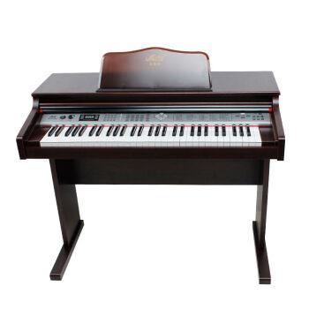 メロスMLS-9929エレクトリックボンド61鍵盤電子ピアノ力鍵盤教育まねるピアノコース2,9929ブラウン+ギフト+電子キーボーベンチ