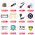 品帥61鍵盤多機能知能教育電子キーボンド子供初学楽器子供玩具接続携帯パッド子供初学版(黒)+琴架+琴カバー+イヤホン