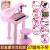 喜迪奇子供電子キーボンドのおもちゃは受話器の女の子のピンクを持ってマイクのおもちゃのピアノを持って子供の音楽の琴を弾いて電気を供給することができます8815色の箱の豪華版のイヤホン版はUSBメモリを持ちます。