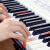 美科MK-2100ホワイトインテリジェントライトと61ボタンのピアノボタンを弾きます。多機能電子キーボンド接続マイクヘッドフォンUディスク携帯パッド