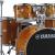 YAMAHAヤマハ棚ドラムステージCustom成人舞台演唱子供のためのジャズドラム「はちみつ琥珀色」5ドラム3镲架(闷片を含まない)+プレゼント用のプレゼントバッグ