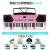 【受領券立減20】子供用電子キー61キーボンドインテリジェントライト多機能ピアノ初心者の大人にはピンクのインテリジェントライト版と61ボタンのピアノをまねるボタンが適用されます。