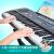【利用券20割引】電子キーボンド子供入門初心者子供用知能教育ピアノ61鍵盤男の子楽器女の子玩具1-3-8歳誕生日プレゼント【1買うと10琴台が付きます】ブラックライト教育USB版ピアノキー