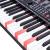 新韻(XY-988充電版+X台携帯電気ピアノ88鍵盤スマート電子キーボー専門の子供用家庭用大人用電子ピアノ88鍵盤